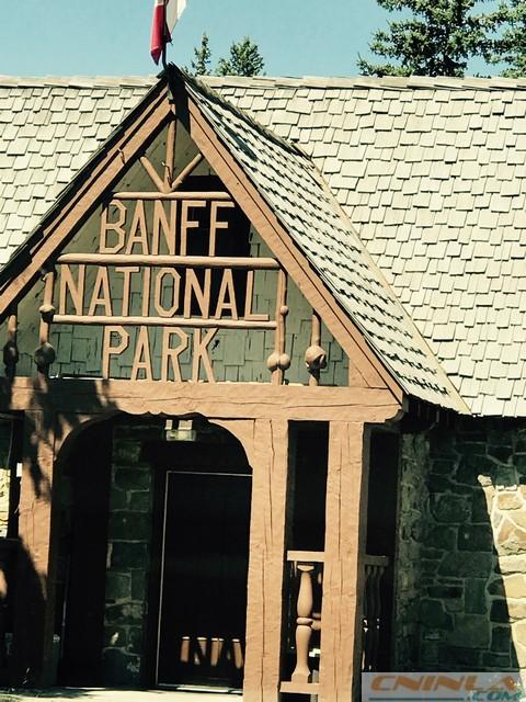 Banff NP Entrance